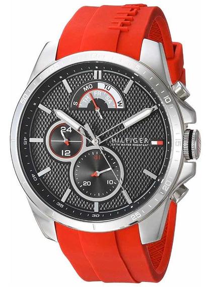 Reloj Tommy Hilfiger Caballero 46mm Mod 1791351 Nuevo Origin