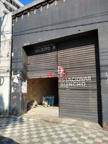 Imagem 1 de 5 de Loja Para Alugar Por R$ 5.500,00/mês - Vila Matias - Santos/sp - Lo0299
