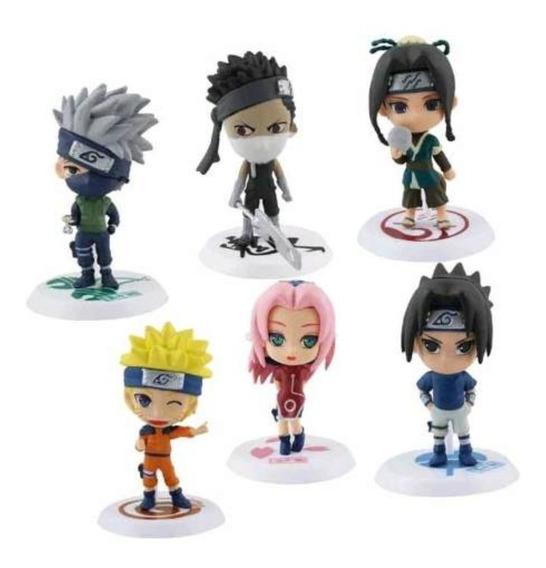 Naruto Shippuden Sasuke Kakashi Figura Muñeco Envio Gratis
