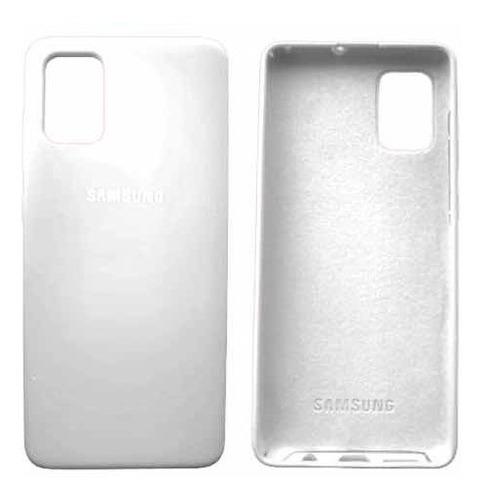 Estuche Silicone Case Samsung A51 + Ceramica + Vidrio Camara