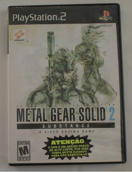 Metal Gear Solid 2 Substance Ps2 Original Usado