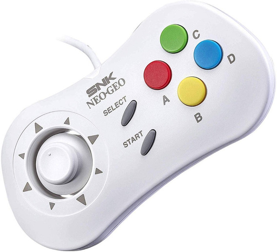Controle Neo Geo Mini Tipo C - Branco - Novo Original!