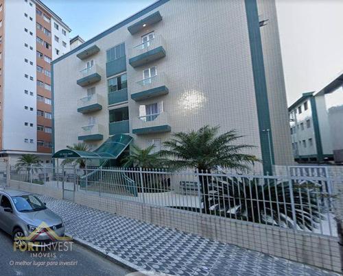 Imagem 1 de 11 de Apartamento Com 1 Dormitório Para Alugar, 50 M² Por R$ 1.200,00/mês - Tupi - Praia Grande/sp - Ap2382