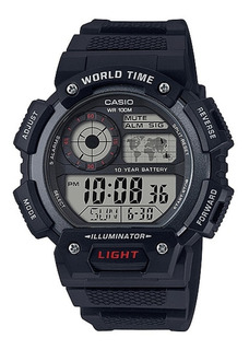 Reloj Hombre Casio Ae-1400wh-1av Negro Digital / Lhua Store