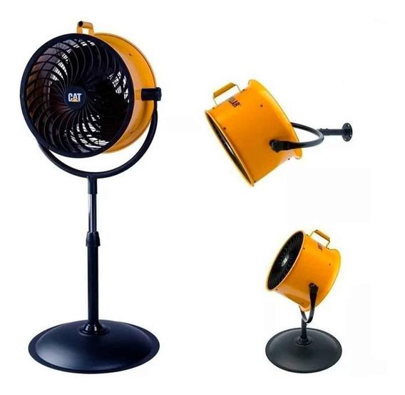 Ventilador Industrial De Pie Caterpillar 4 Velocidad 3 Modos