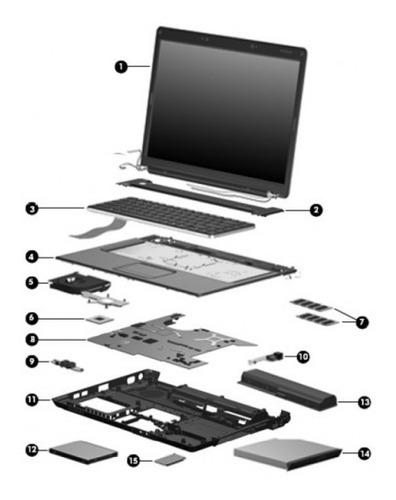 Imagen 1 de 10 de Notebook   Macbook  Pro A1260, En Desarme Repuestos