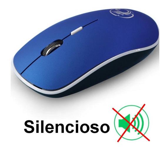 Mouse Sem Fio, Silencioso Não Faz Barulho Click Wireless