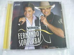 Cd Fernando & Sorocaba - Vendaval Ao Vivo