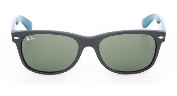 Óculos De Sol Ray-ban Wayfarer Rb 2132 Verde 55