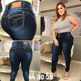 89d3af192 Calça Jeans Feminina Plus Size Cintura Alta Marca Chic Lady · 3 cores. R$  145