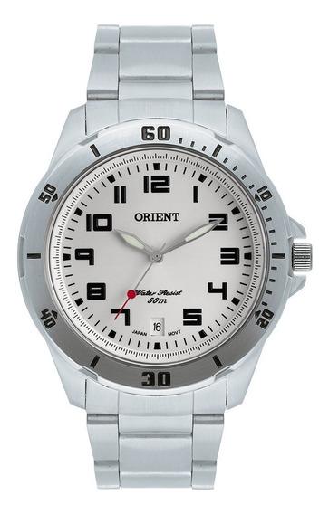 Relogio Orient Mbss1155a Masculino Prata