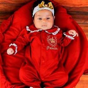 Saída De Maternidade Vermelho Menina Promoção