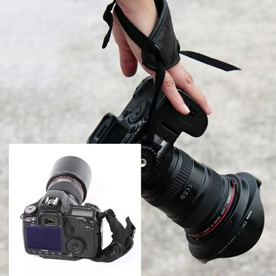 Acessórios Fotografia Cinta Pulso Aperto Mão Pu Para Nikon