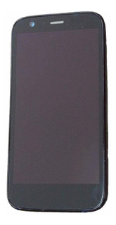 Display Frontal Lcd Tela Touch Com Aro Moto G1 G 1 Testado