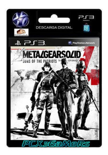 Ps3 Juego Metal Gear Solid 4 Guns Of The Patriot Pcx3gamers