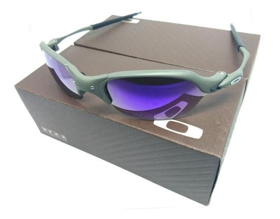 Oculos Oakley Romeo 2 Xmetal Lente Roxa Double Juliet 24k