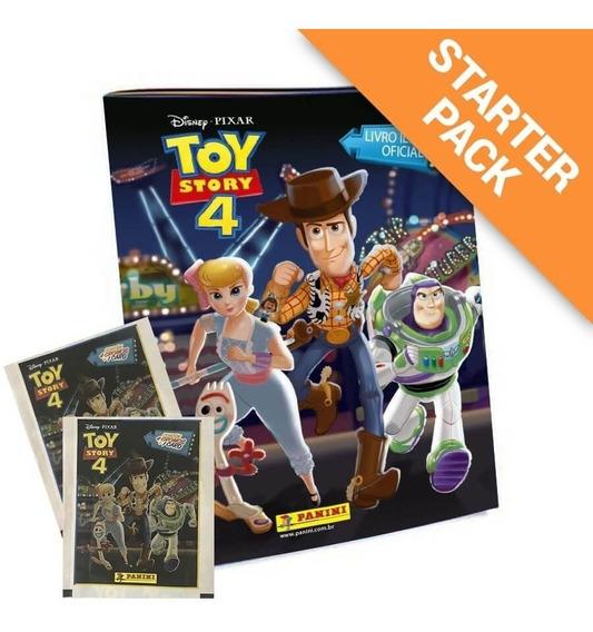 Album + 80 Envelopes Toy Story 4 =320 Figurinhas + 80 Cards