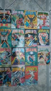 Heróis Da Tv Coleção Comics Revistas Marvel Hq