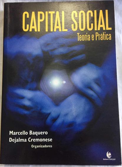 Livro Capital Social Teoria E Prática