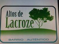 Lotes 325 M2 A 400 M2 En Altos De Lacroze