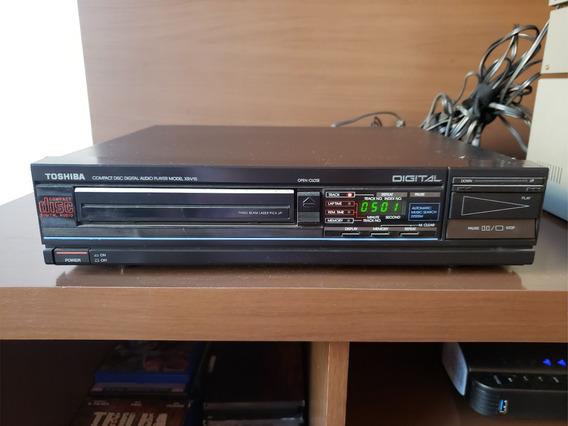 Compact Disc Toshiba Modelo Xr-v15 Cd Player Reliquia Ok