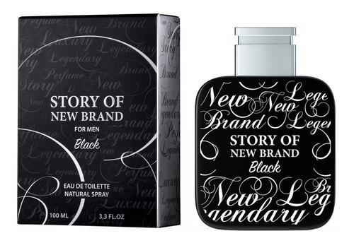 Story Of New Brand For Men Edt 100ml C/selo Adipec