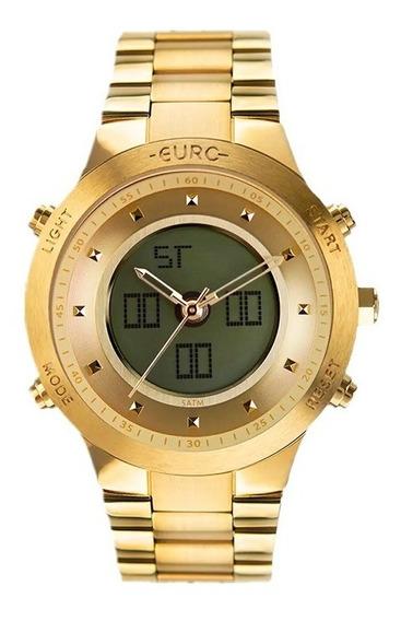 Relógio Euro Feminino Sporty Lux Dourado