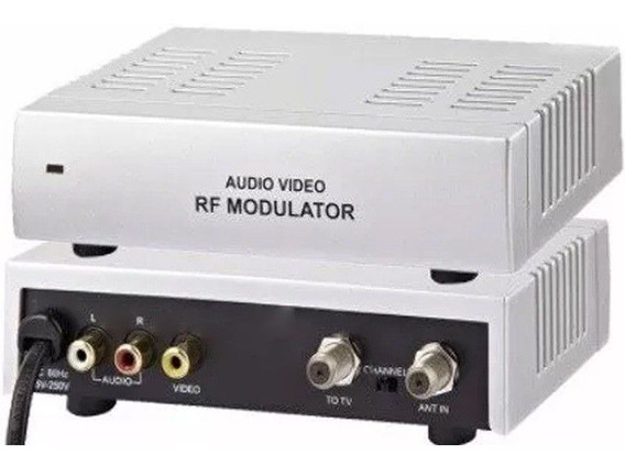 Modulador Rf Rca Audio Video Para Rf