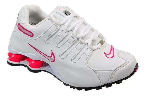 Tênis Feminino Nike Sxhox Nz Eu Couro Academia Amortecedor