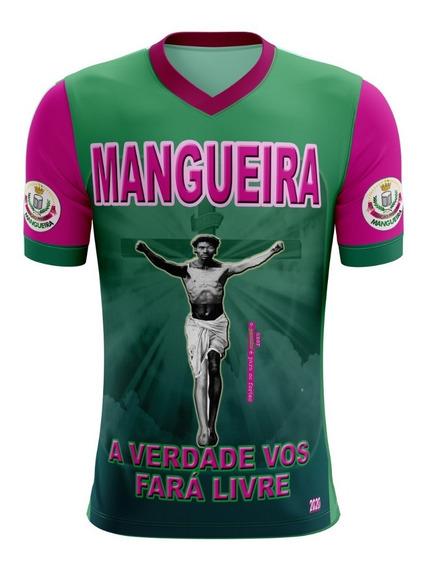 Camisa Mangueira 2020 Rio Janeiro Camiseta Blusa Carnaval