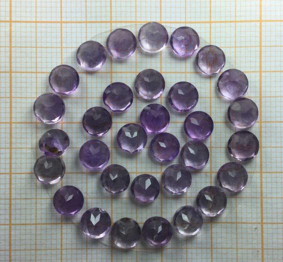 Ametista 0 070 Cts Redonda Natural 1,5 Mm 02 Pedras Extra