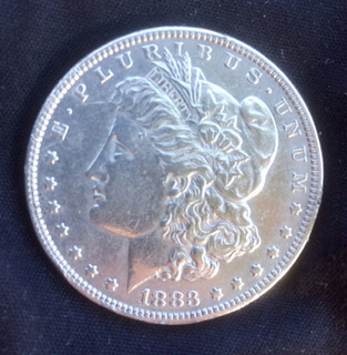 Dollar Morgan 1883 De Plata