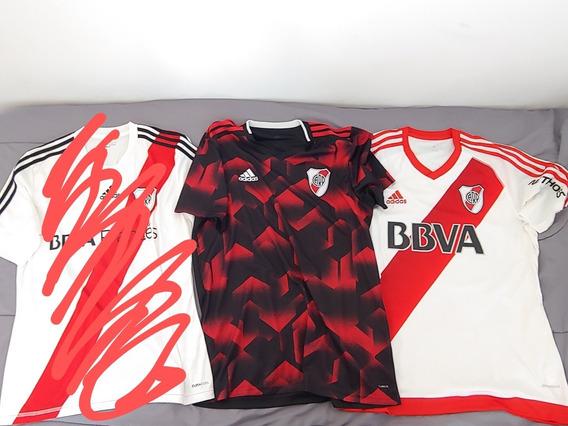 Camisetas River Plate 2019 2016 Titular Negra