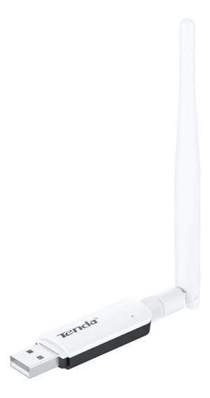 Tenda U1 Adaptador Usb Inalámbrico Ultrarrápido 300 Mbps Wps