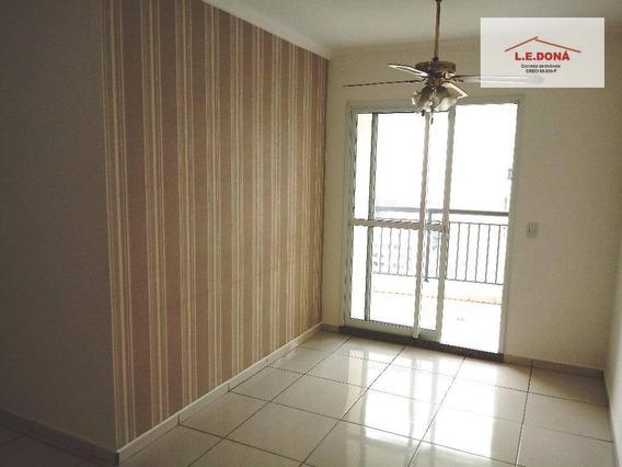 Apartamento Residencial Para Locação, Vila Yara, Osasco - Ap0088. - Ap0088