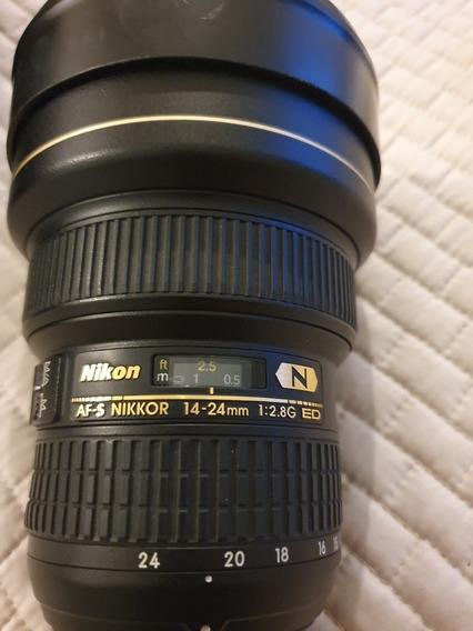 Lente Nikon 14 24 Mm 8g Ed