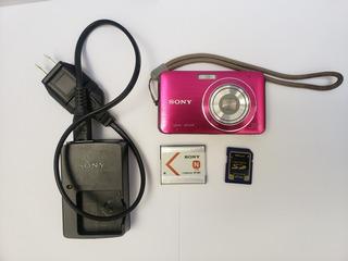 Camara Digital Sony Cyber-shot Dsc-w610 14.1 M.p Color Rosa