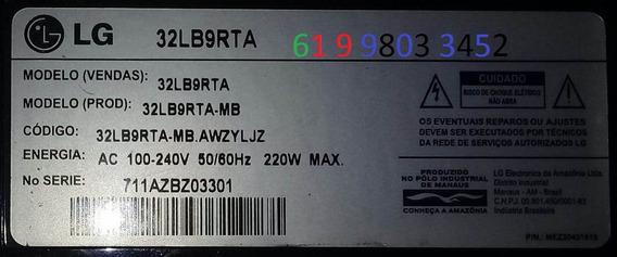 32lb9rta Mb Awzyljz Tela Boa Fonte E Principal Defeito