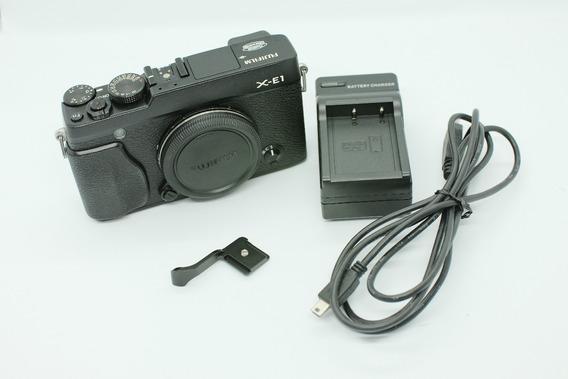 Camera Fujifilm X-e1 Ou Xe1 + Thumb Grip - Impecável