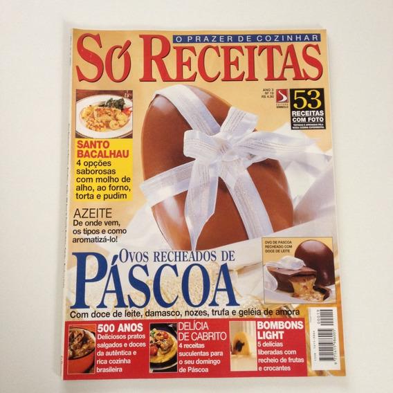 Revista Só Receitas Ovos De Páscoa Bombons Light Cc532