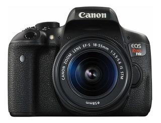 Canon EOS Rebel T6i 18-55mm IS STM Kit DSLR negra