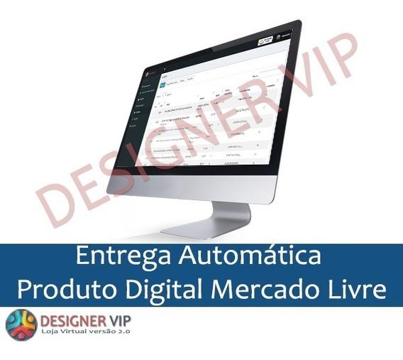 Script Php Entrega Automática Produto Digital Mercado Livre
