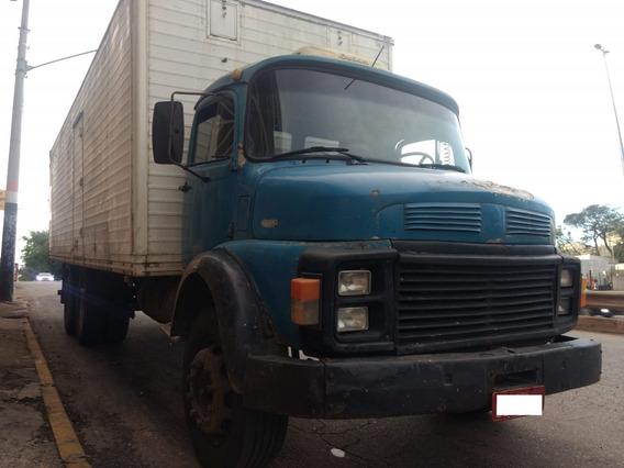 Mb 1113 81/81 Truck Baú 8,5m - R$ 34.000