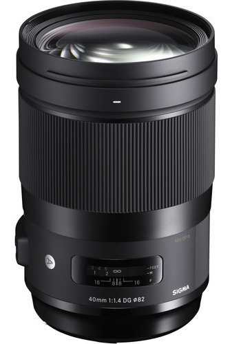 Lente Sigma 40mm F/1.4 Dg Hsm Art Canon Nikon Sony