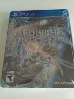 Final Fantasy Xv Deluxe Edition Ps4 Nuevo Sellado