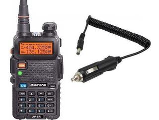 Rádio Ht Baofeng Dual Band Uv-5r + Carregador Veicular