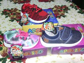 Zapatos Deportivos Apolos De Luces Para Niños