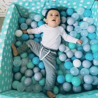 Mini Pelotero Nórdico Montessori Tipi Tela Bebe Infantil