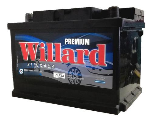 Imagen 1 de 9 de Bateria Auto Willard 12x65 Blindada Cambio Domicilio Caba