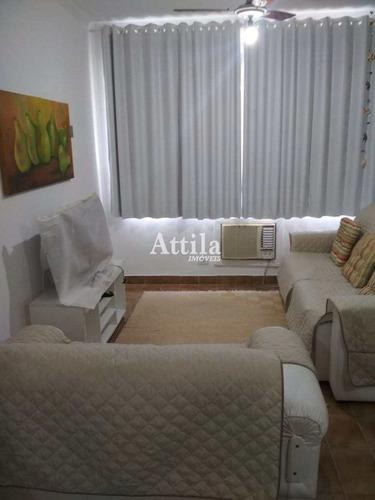 Imagem 1 de 9 de Apto Reformado, 1 Dorm., 200mts Praia Enseada - V2712
